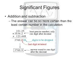 Calculations Significant Figures Worksheet Answers Measurements And Calculations Ppt