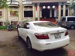 xe lexus ls460 ô tô bán xe lexus ls460l màu trắng đời 2007