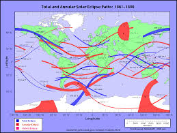 Map Of Mexico 1821 Nasa Solar Eclipses 1981 1990