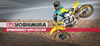 Atv Sponsorship Resume Apply For Sponsorship Yoshimura R U0026d