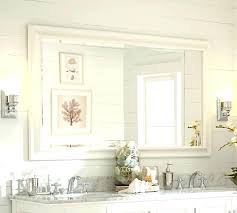 48 Inch Bathroom Mirror Best 25 Frame Bathroom Mirrors Ideas On Pinterest Framed For