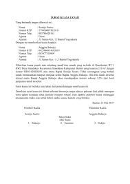 format surat kuasa jual beli rumah download contoh surat kuasa tanah terbaru