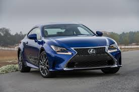 2016 lexus rc f 2016 lexus rc coupe adds turbo four 200t v 6 300 awd models