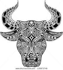 bull stock vector 135873746 shutterstock