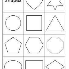 kindergarten shapes worksheets worksheet shapes kelpies