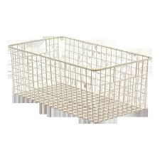 wire mesh storage bins wire mesh stack hang bins qmb520c 7 1 4 x 4
