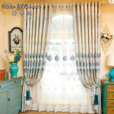 high density jacquard with crystal bead window curtain for