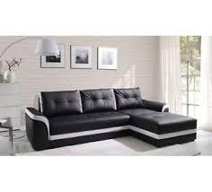 White Leather Corner Sofa Sale Sale New Leather Corner Sofa With Bed And Storage Black
