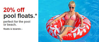 target black 20 percent friday coupon target pool floats up to 20 off