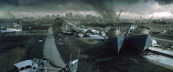 the post apocalyptic landscape location and production design the