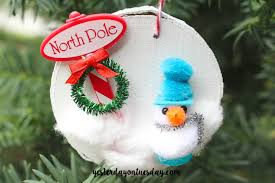 cupcake topper ornaments yesterday on tuesday