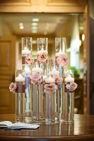floating candle centerpieces the merry bride