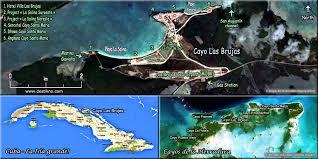 santa map hotels cayo santa cuba