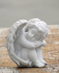 beautiful angel figurines fairy love statues in baby sculpture