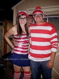 Scrabble Halloween Costume Coolest U0027s Waldo Couple Costume Costumes Halloween