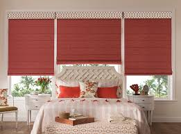 Flat Roman Shades - envision elevance cord free roman shades with integrated liner