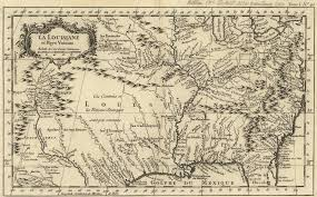 Road Map Of Louisiana by 1760 To 1764 Pennsylvania Maps