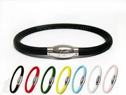 healthy magnetic bracelet images Magnetic silicone negative ion sports bracelet ivb001 jpg