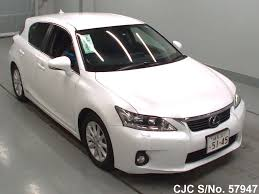 lexus ct200h used car 2011 lexus ct200h white for sale stock no 57947 japanese used