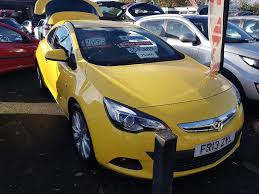 vauxhall yellow used cars vauxhall astra netherton