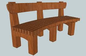 redwood garden bench phil wendt