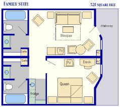 Disney Fantasy Floor Plan Family Suites At Disney U0027s All Star Music Resort Guide