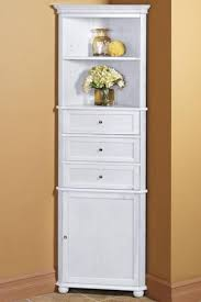 White Towel Cabinet Kitchen Corner Linen Cabinets Pertaining To Provide House Laundry