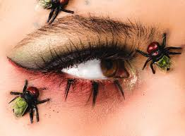 halloween spider and bug makeup popsugar beauty