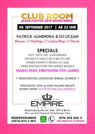 Wohnzimmer Shisha Bar Berlin Party Empire 08 09 2017 Gästeliste030