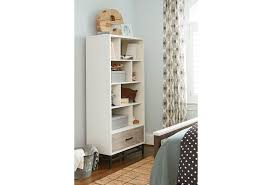 24 Inch Wide White Bookcase by Surprising Kitchen Home Modern Style Deco Combine Strong White