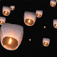 lantern kites flying wishing l lantern sky lanterns hot air kongming
