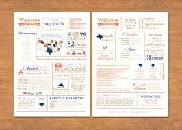 programs for weddings info graphic wedding program by bisforbrown on etsy wedding