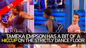 Hit The Floor Controversy Dance - strictly u0027s tameka epson reveals her greatest fear about dancing on
