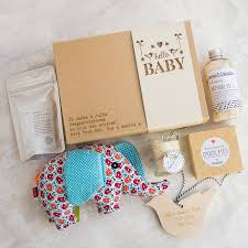 hello baby u0027 personalised gift box by fora creative
