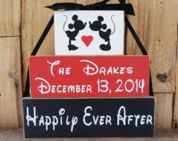 wedding gift etsy disney wedding gift etsy