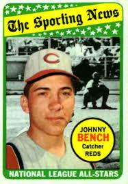 Johnny Bench Fingers 1969 Topps Baseball Cards