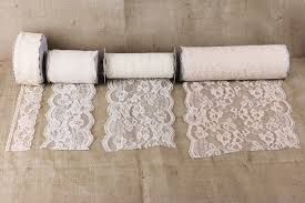 4 inch ribbon lace ribbon burlapfabric burlap for wedding and special events