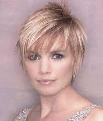 long layered pixie cut on top and sides is easy to style to get an