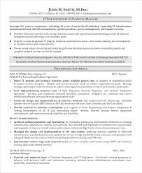 Technology Manager Resume Special Skills To Put On Acting Resume Resume Examples