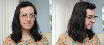 body wave perm hairstyle before and after on short hair a week with my first permanent wave by gum by golly