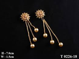 latkan earrings gold earrings tops with latkan best earring 2017