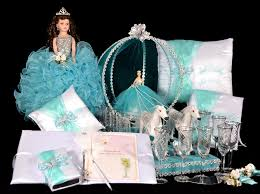 quinceanera cinderella theme butterfly theme package qsp111 quinceanera accessories packages