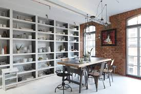 decorating loft apartments dining room industrial with luxury