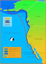 Map Of West Coast Of America And Canada by Baja Ecotours Maps Of Baja California