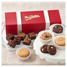 mrs fields brownies mrs fields classic trunk includes 18 assorted nibblers and 12