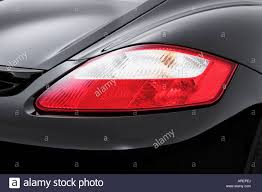 cayman porsche black 2006 porsche cayman s in black tail light stock photo royalty