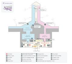 airport floor map services and facilities chubu centrair