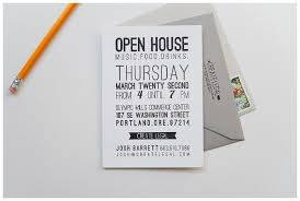 open house invitation letterpress open house invitation three fifteen design