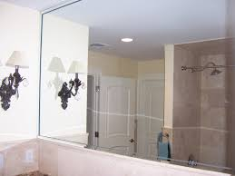 Etched Bathroom Mirror by Undefined