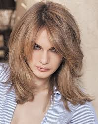 layered medium lenght hair with bangs shoulder length layered hairstyles the xerxes
